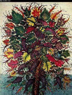 "Seraphine Louis, known as ""Seraphine de Senlis"" (""Seraphine of Senlis"") Claude Monet, Senlis France, Artistic Photography, Art Photography, Art Brut, Art Database, Naive Art, Outsider Art, French Artists"