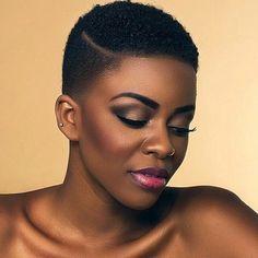 Short hair cut for black women