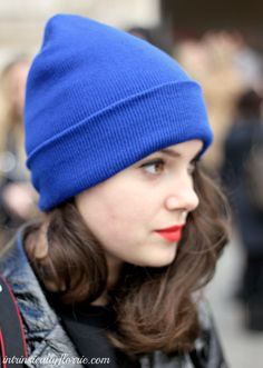 6. Folded - 9 Fashion Tips on How to Wear a Beanie ... → Hair