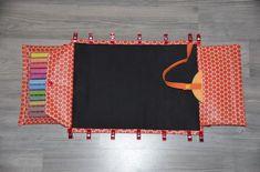 Kreidetafel-Tasche für unterwegs  kostenlose Nähanleitung