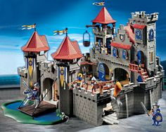 Playmobil Castle. awesome toys, and extremely durable. As soon as baby turns 4, he'll start getting some for sure.