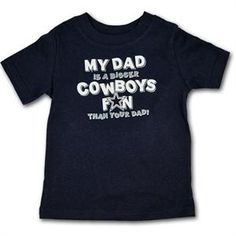 Dallas Cowboys Kids Tee Shirt
