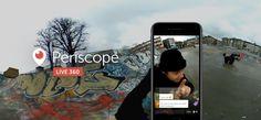 #Twitter, ecco i video live 360 in streaming da #Periscope - #Periscope360