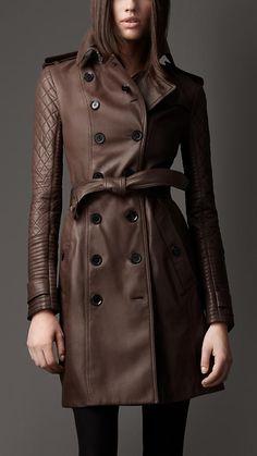 Black Leather Trench Coat Women genuine lambskin Winter Coat Sizes S,M,L,XL, 012 Leather Trench Coat Woman, Long Leather Coat, Burberry Trench Coat, Trench Coats, Brown Leather, Burberry Scarf, Trench Jacket, Lambskin Leather, Leather Jackets