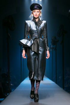 A look from the Jean Paul Gaultier Fall 2015 Couture collection.