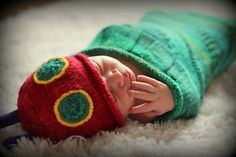 Ravelry: Knitted Hungry Caterpillar Sleep Sack pattern by Kirsten Lovell