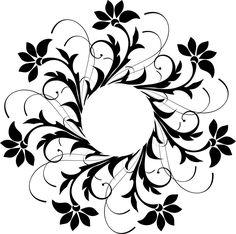 free printable stencil templates flower stencils printables templates stencil patterns printable - Printable Pages Printable Stencil Patterns, Stencil Templates, Stencil Designs, Machine Silhouette Portrait, Decoupage, Paper Art, Paper Crafts, Wood Burning Patterns, Stencil Art