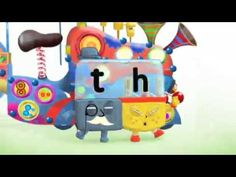 "There are lots of alphablocks videos. This one is on the ""th"" sound. Alphablocks Series 3 - Thing"