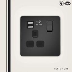 www.smitchers.com  Screwless Metal switches and socket   USB Socket !!!