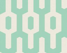 Artist Modern Retro Aqua Heavy weight wallpaper from AS Creation's Colour Courage Collection. Retro lattice print with modern styling in bright aqua tones. Geometric Wallpaper Navy, Green Wallpaper, Retro Wallpaper, Wallpaper Online, Wallpaper Decor, Pattern Wallpaper, Wallpaper Ideas, Contemporary Wallpaper, Blue Wallpapers