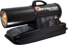 Mr. Heater MH75KTR kerosene heater, Black Gas Fireplace Parts, Shop Heater, Carpet Spot Remover, Best Space Heater, Backpack Vacuum, Kerosene Heater, Radiant Heaters, Magnetic Knife Holder, Portable Heater