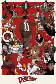 Who Framed Roger Rabbit by PotteringAbout on DeviantArt
