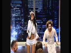 Sara Oks singing on a TV Channel Stolitsa. Alive!
