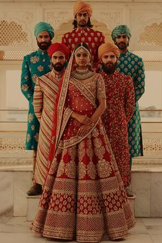 Sabyasachi Spring Couture The Udaipur Collection. Jewellery by Kishandas For Sabyasachi. Photograph by Tarun Khiwal. Indian Bridal Outfits, Indian Bridal Wear, Indian Dresses, Sabyasachi Collection, Bridal Lehenga Choli, Sabyasachi Lehenga Bridal, Bridal Lehenga 2017, Indian Wedding Lehenga, Pink Lehenga