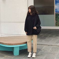 date party outfit Korean Girl Fashion, Ulzzang Fashion, Korean Street Fashion, Asian Fashion, Korean Outfits, Mode Outfits, Grunge Outfits, Set Fashion, Boho Fashion
