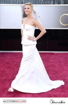 Charlize Theron - Dior Couture - El Palacio de Hierro #Oscars 2013 #AlfombraRojaPH
