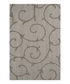 Take a look at this Bristol Swirl Rug by Designed to Shine: Home Décor on #zulily today!