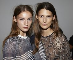Reptile prints and exotic skins at Preen SS13 for their return to the London catwalk #LFW #BestofBackstage
