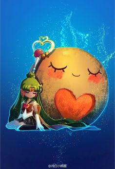 Love this Sailor Pluto fan art http://moonkittynet.tumblr.com/post/127364190260/sailor-moon-rei-by-%E7%BA%AF%E7%99%BD%E5%B0%8F%E7%86%8A%E6%98%9F-love-these