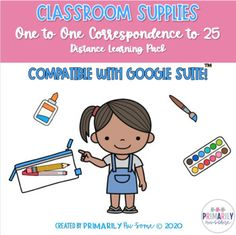 Back to School | Distance Learning Work Pack for One to One Correspondence
