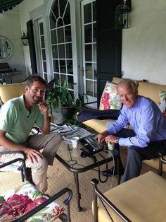 Vice-President Joseph Biden and his son Joseph Beau Biden III. Rest in peace Beau. Beau Biden, Joe Biden, All In The Family, Rest In Peace, Presidents, Cancer, Vice President, Politics, Celebs