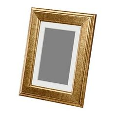 """IKEA - VIRSERUM, Frame, 5x7 """", , The mat is acid-free and will not discolor the picture.You can hang the frame on a wall or stand it on a table.The frame can be used horizontally or vertically, whichever suits you or your picture best.You can enhance and add depth to your picture by using the accompanying mount when you frame it."""