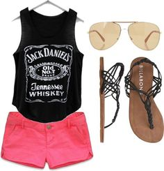 Party Girl Summer Outfit sunglasses shorts summer fashion trends outfit flip flops summer clothes wardrobe summer outfits outfit ideas