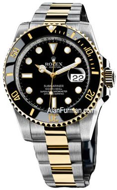 Rolex Oyster Perpetual Submariner Date Model 116613LN  with Black Dial and Black Ceramic Bezel  on Sale Now at Alan Furman and Co Jewelers, your family jeweler since 1985.