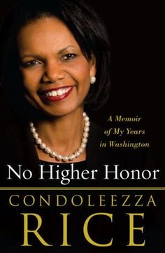 Condoleezza Rice's years in the Bush administration