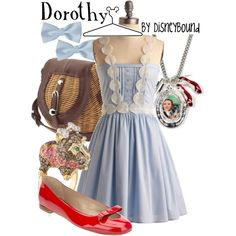 Dorothy, created by lalakay on Polyvore
