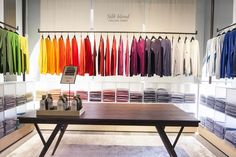 United Colors of Benetton, new concept On Canvas, Milan, Italy #retail #fashion