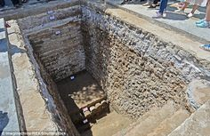 Ruins of lost palace discovered in the Forbidden City, China.