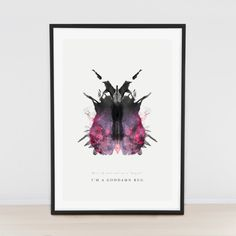Rorschach Bug // 50x70cm