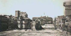 Igreja de S. Pedro dos Clérigos de 1733, demolida em 1943 para abertura da Av. Pres. Vargas.