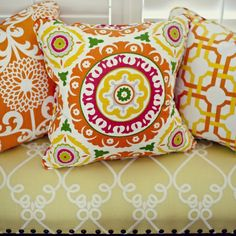 Solis Orange Pillow