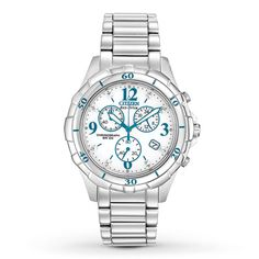 Citizen Womens Watch Eco-Drive Chronograph FB1350-58A. Available at Jared Galleria of Jewelry.