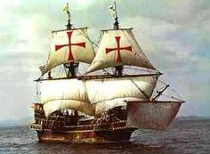 three masted galleon golden hinde was one of the first of her kind The ship of Sir Francis Drake commission by England to explore and claim lands in the New World European History, British History, Golden Hind, Hms Bounty, Famous Pirates, Drake, Pirates Cove, Love Boat, Pirate Life