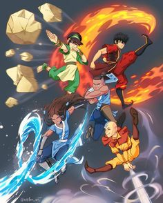 Avatar Fan Art, Team Avatar, The Last Avatar, Avatar The Last Airbender Art, Zuko, Avatar Studios, Avatar Kyoshi, Avatar Funny, Avatar Series