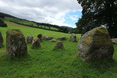 Croft Moraig Stone Circle, Perthshire, Scotland, 277.16. This complex double…