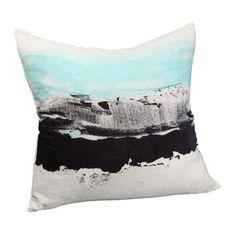 Abstract Velvet Pillow