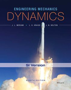 Engineering mechanics statics 7th edition si version j l meriam and boltons engineering mechanics dynamics 8th edition si version has provided a solid foundation of mechanics principles for more than 60 years fandeluxe Gallery