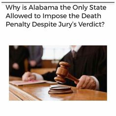 @Regrann from @crackedrosecoloredglasses_us -  Most people in the United States believe that the death penalty is a sentence imposed by 12 members of a jury. Some may be surprised to learn that in one state and only one state a jurys decision to impose a life sentence can be overridden by a trial judge who then has the power to singlehandedly impose the death penalty. What may be less of a surprise is that the one state allowing this practice is U.S. Attorney General Jeff Sessions sweet home…