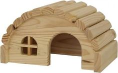 """Aus liebevoller Handarbeit wurde das Nagerhaus Sibu """"S"""" hergestellt. Das Naturholz bietet den idealen Knabberspass und sorgt so für eine gute Zahnpflege. Auch in den größeren Versionen Sibu """"M"""", Sibu """"L"""" und Sibu """"XL"""" bei uns im Shop erhältlich."""