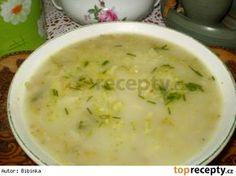 Brokolicovo-nivová polévka Cheeseburger Chowder, Ham, Soup, Yummy Food, Baking, Delicious Food, Hams, Bakken, Soups