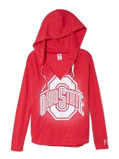 The Ohio State University Vintage Tunic Hoodie
