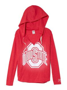 The Ohio State University Vintage Tunic Hoodie