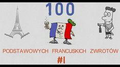 100 Podstawowych Francuskich Zwrotów - #1 Education, Youtube, Onderwijs, Learning, Youtubers, Youtube Movies