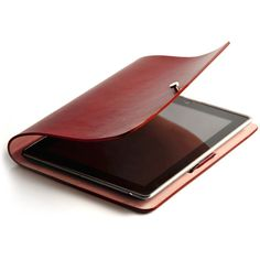 Arc iPad Cover-Arc iPad Cover-Elegantly simple, this handcrafted iPad case is constructed from premium Italian calfskin. It can be folded a variety of ways so you can perfectly position the tablet on your desk or lap. Details -Available in Black, Blue and Claret -Premium Italian calfskin with handcrafted silver metallic buckle -Compatible with iPad2 and 3 -Fully protects the tablet's body and screen Price $120  SEE DETAILS HERE: http://www.ipadpricing.net/ipad-and-tablet-cases/