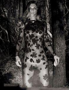 Malgosia Bela in 'Grace Undone' By Steven Klein For Interview November 2013 - 3 Sensual Fashion Editorials | Art Exhibits - Anne of Carversv...