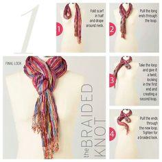 scarf DIY (:
